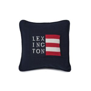 Lexington No1 Sham - Logo navy