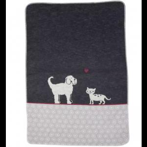"""Haustierdecke """"Hund und Katze"""""""
