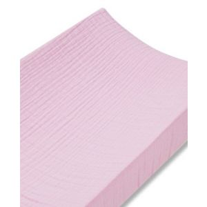 Classic changing mat cover, solid pink