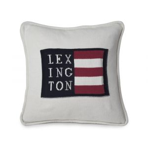 Lexington No1 Sham - Logo weiß